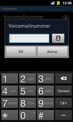 Samsung I8160 Galaxy Ace II - Voicemail - Handmatig instellen - Stap 7