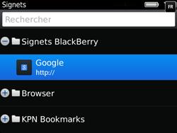 BlackBerry 9720 - Internet et connexion - Naviguer sur internet - Étape 11