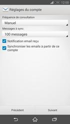Sony Xperia Z3 - E-mail - configuration manuelle - Étape 16