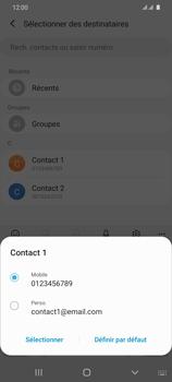 Samsung Galaxy S20 Ultra - Contact, Appels, SMS/MMS - Envoyer un SMS - Étape 7