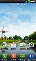 LG P970 Optimus Black - SMS - configuration manuelle - Étape 1