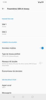 OnePlus 7 Pro - Internet et connexion - Activer la 4G - Étape 8