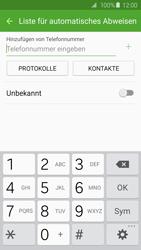 Samsung G925F Galaxy S6 Edge - Anrufe - Anrufe blockieren - Schritt 8