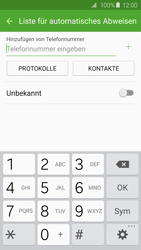 Samsung Galaxy S6 - Anrufe - Anrufe blockieren - 8 / 12