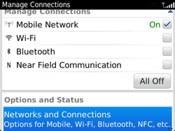 BlackBerry 9360 Curve - Network - Usage across the border - Step 4