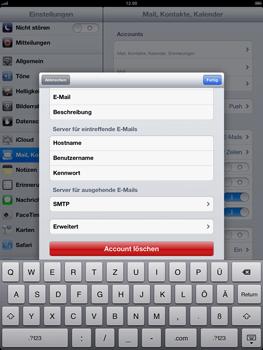 Apple iPad 4 - E-Mail - Konto einrichten - Schritt 19
