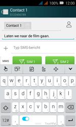 Huawei Y3 - MMS - Afbeeldingen verzenden - Stap 9