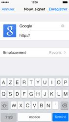 Apple iPhone 5c - Internet et roaming de données - Navigation sur Internet - Étape 8