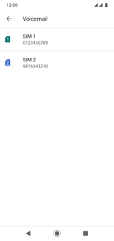 Xiaomi Mi A2 Lite - Voicemail - handmatig instellen - Stap 8