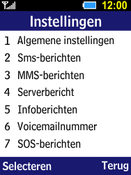 Samsung Xcover 550 (SM-B550H) - SMS - Handmatig instellen - Stap 5