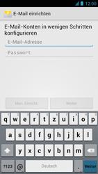 Alcatel One Touch Idol - E-Mail - Manuelle Konfiguration - Schritt 8