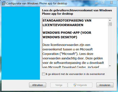 Nokia Lumia 920 LTE - Software - Download en installeer PC synchronisatie software - Stap 2