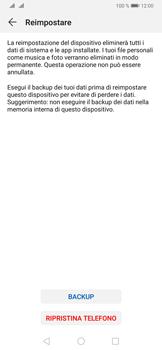 Huawei P30 Pro - Dispositivo - Ripristino delle impostazioni originali - Fase 8