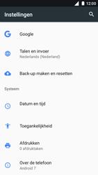 Nokia 5 - Toestel reset - terugzetten naar fabrieksinstellingen - Stap 4
