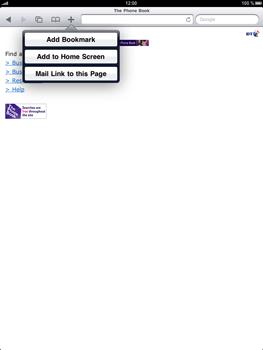 Apple iPad 2 - Internet - Internet browsing - Step 9
