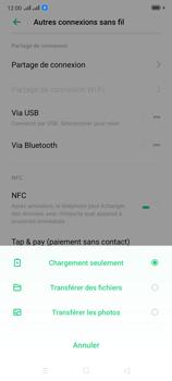 Oppo Reno 2 - Internet et connexion - Utiliser le mode modem par USB - Étape 6