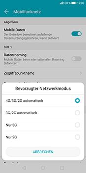 Huawei Honor 9 Lite - Netzwerk - Netzwerkeinstellungen ändern - Schritt 7