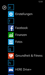 Nokia Lumia 635 - MMS - Manuelle Konfiguration - 3 / 17