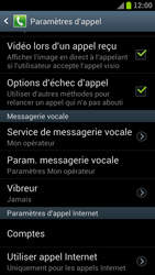 Samsung I9300 Galaxy S III - Messagerie vocale - configuration manuelle - Étape 6