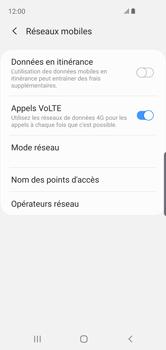 Samsung Galaxy S10e - Internet et roaming de données - Désactivation du roaming de données - Étape 7