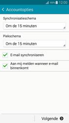 Samsung A500FU Galaxy A5 - E-mail - handmatig instellen - Stap 18