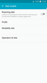 Samsung Galaxy S6 edge+ (G928F) - Rete - Selezione manuale della rete - Fase 5