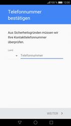 Huawei P9 Lite - Apps - Konto anlegen und einrichten - 6 / 21