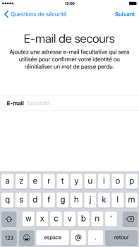 Apple iPhone 6s Plus - Premiers pas - Créer un compte - Étape 28