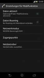 Sony Xperia V - Netzwerk - Manuelle Netzwerkwahl - Schritt 6