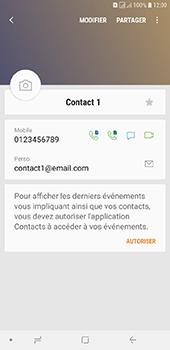 Samsung Galaxy J6 Plus - Contact, Appels, SMS/MMS - Ajouter un contact - Étape 14