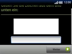 Sony Ericsson Xperia X10 Mini Pro - Apps - Konto anlegen und einrichten - 15 / 19