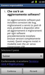 Samsung Galaxy S Advance - Software - Installazione degli aggiornamenti software - Fase 8