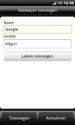 HTC S510e Desire S - Internet - Internetten - Stap 6