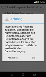 Sony Xperia E1 - Ausland - Im Ausland surfen – Datenroaming - Schritt 10