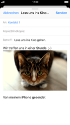 Apple iPhone 8 - E-Mail - E-Mail versenden - 1 / 1