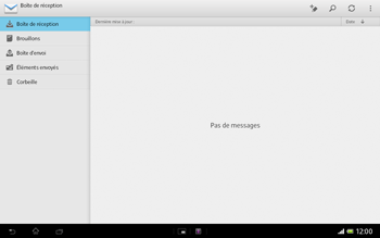 Sony Xperia Tablet Z LTE - E-mail - Configuration manuelle - Étape 4