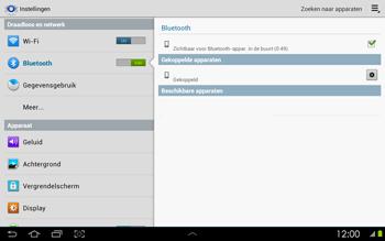 Samsung P5100 Galaxy Tab 2 10-1 - Bluetooth - Headset, carkit verbinding - Stap 8
