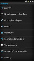 Sony LT26i Xperia S - wifi - handmatig instellen - stap 4