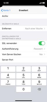 Apple iPhone X - iOS 14 - E-Mail - Manuelle Konfiguration - Schritt 24