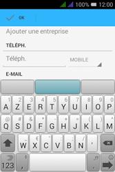 Alcatel Pixi 3 Dual Sim - Contact, Appels, SMS/MMS - Ajouter un contact - Étape 7