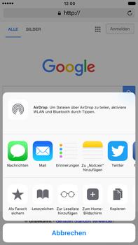 Apple Apple iPhone 7 Plus - Internet und Datenroaming - Verwenden des Internets - Schritt 6