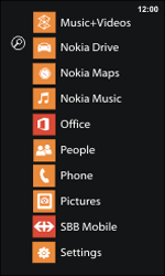 Nokia Lumia 800 / Lumia 900 - E-mail - Manual configuration - Step 3
