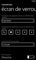 Nokia Lumia 925 - Sécuriser votre mobile - Activer le code de verrouillage - Étape 5
