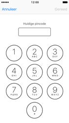 Apple iPhone 5 met iOS 10 (Model A1429) - Beveiliging en ouderlijk toezicht - Hoe wijzig ik mijn SIM PIN-code - Stap 6