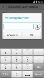 Huawei Ascend Y550 - Voicemail - Handmatig instellen - Stap 7