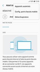 Samsung Galaxy J3 (2017) - Internet et connexion - Partager votre connexion en Wi-Fi - Étape 8