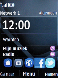 Nokia C2-05 - netwerk en bereik - gebruik in binnen- en buitenland - stap 9