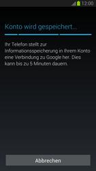 Samsung I9300 Galaxy S3 - Apps - Konto anlegen und einrichten - Schritt 14