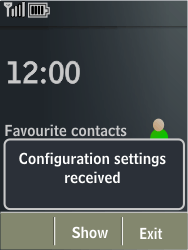 Nokia X3-02 - Internet - Automatic configuration - Step 3