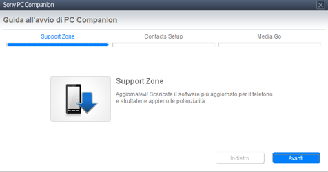 Sony Xperia Tablet Z LTE - Software - Installazione del software di sincronizzazione PC - Fase 7